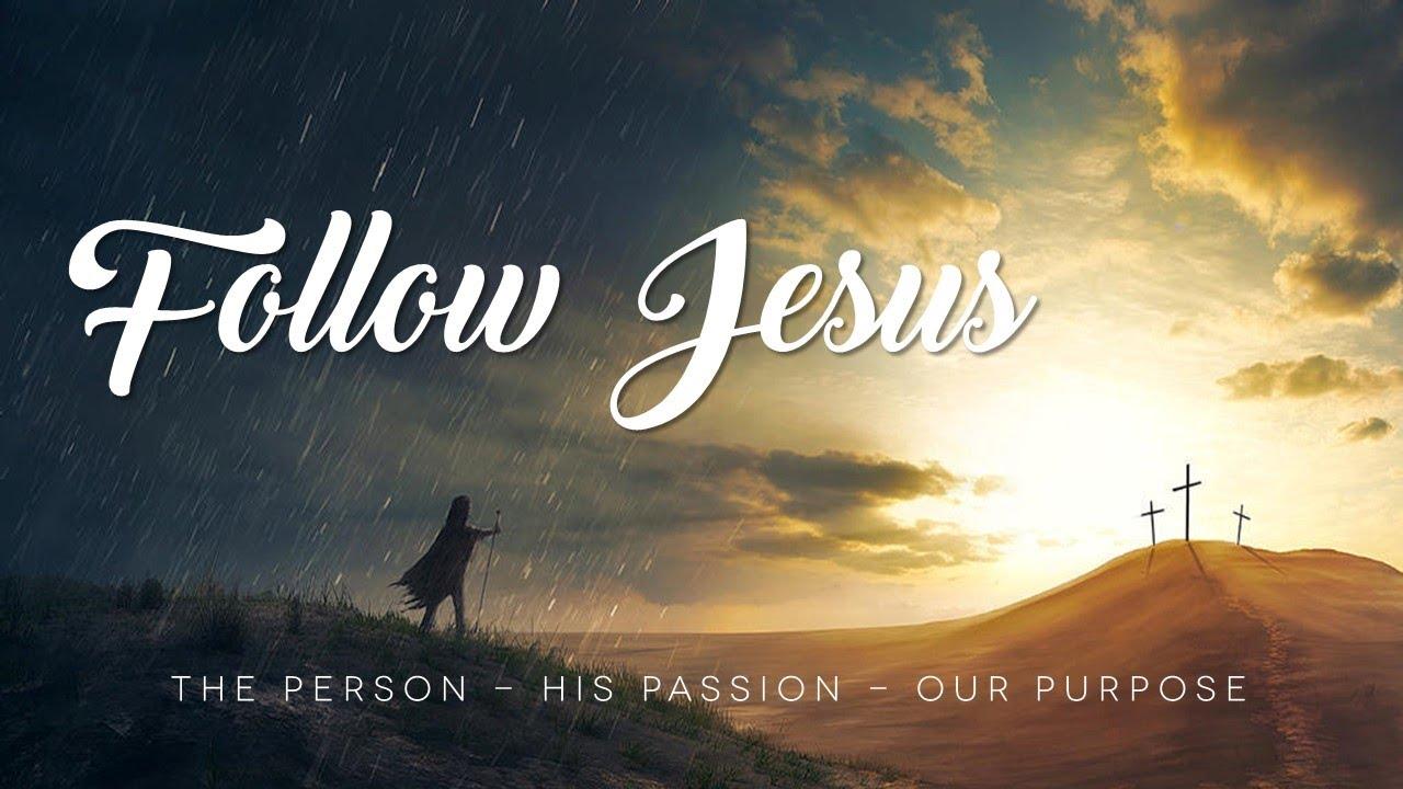 Follow Jesus - Title Slide